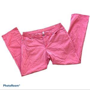 SONOMA Modern Fit Coral Pants Women Plus Size 16